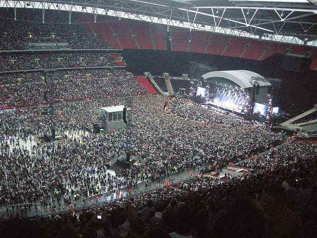 London Wembley Stadium music concert
