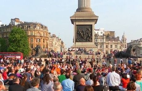 Trafalgar Square – upcoming events and New sculpture